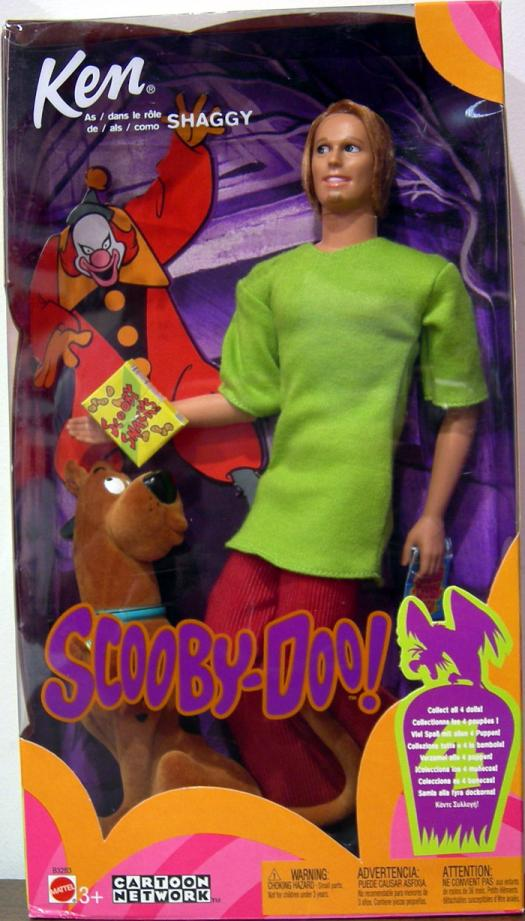 Ken Shaggy Barbie Doll Action Figure Scooby-Doo