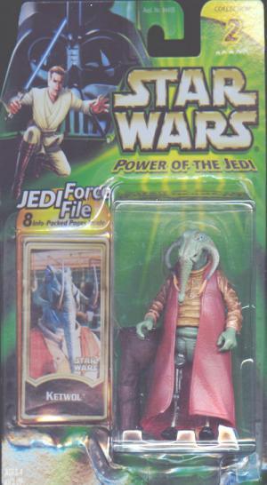 Ketwol Figure Star Wars Power Jedi Collection 2