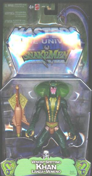 Venom-Spitting Kobra Khan Figure Masters Universe Snakemen