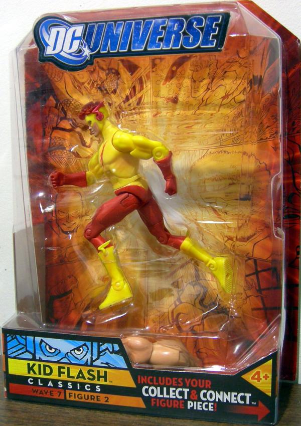 Kid Flash Action Figure 2 DC Universe Classics Wave 7
