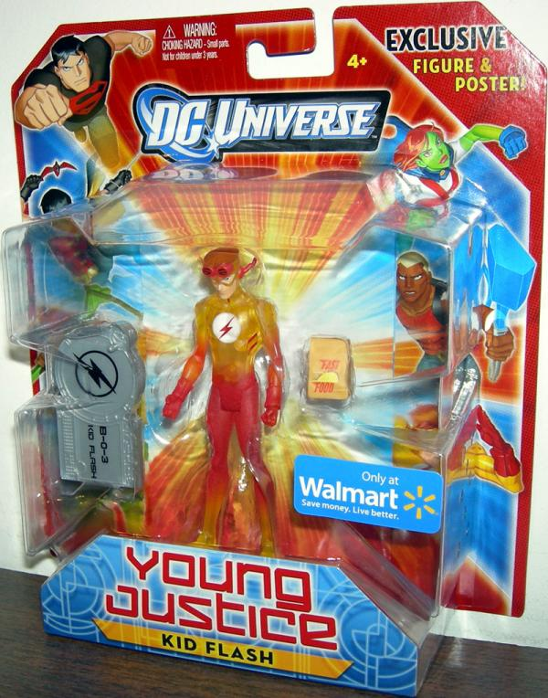 Kid Flash Young Justice, Walmart Exclusive