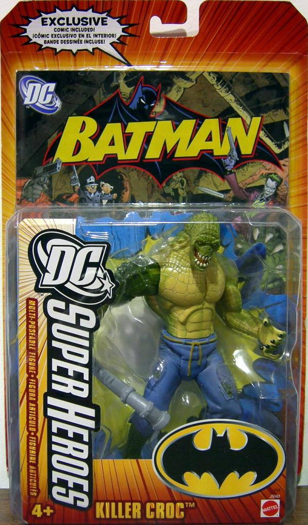 Killercroc Dcsuperheroes on Killer Croc Action Figure