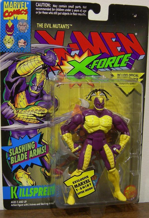 Killspree Figure X-Men X-Force Slashing Blade Arms