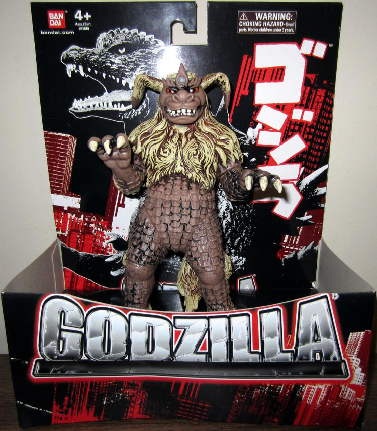 King Caesar Godzilla action figure