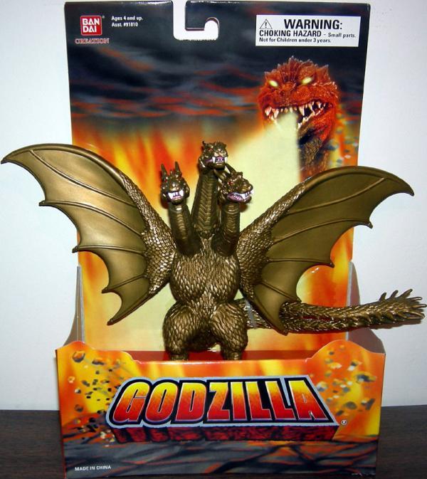 King Ghidorah Figure Godzilla Bandai Creation