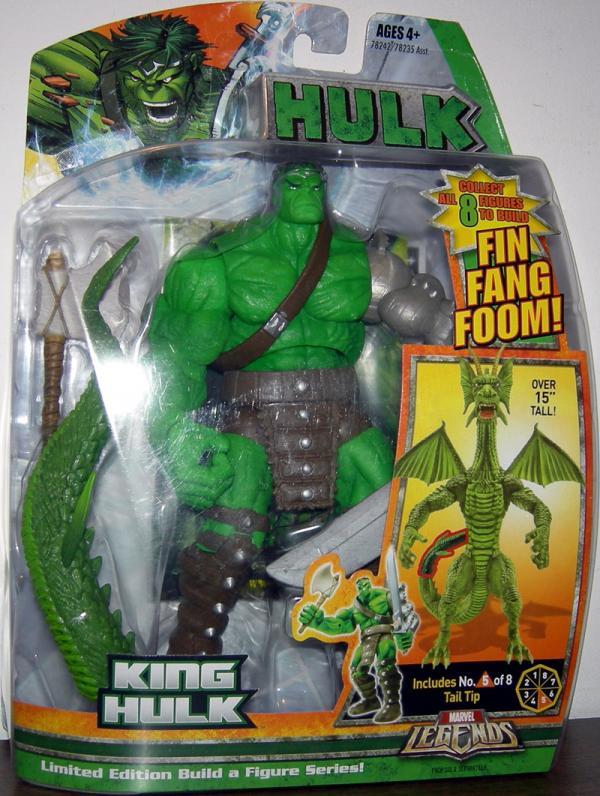 King Hulk Marvel Legends Fin Fang Foom series
