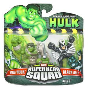 King Hulk Black Bolt Super Hero Squad action figures