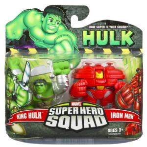 King Hulk Iron Man Super Hero Squad