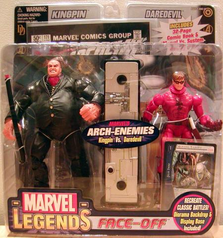 Kingpin vs Daredevil Marvel Legends Variant Action Figures