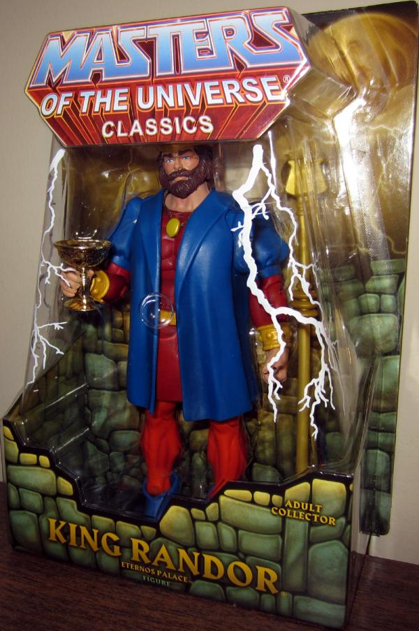 King Randor Eternos Palace Classics action figure