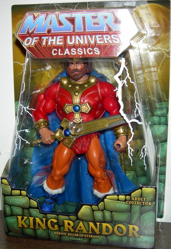 King Randor Classics Figure Masters Universe Mattel