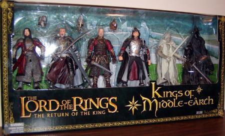 Kings Middle-earth Figures 6-Pack Lord Rings Return King