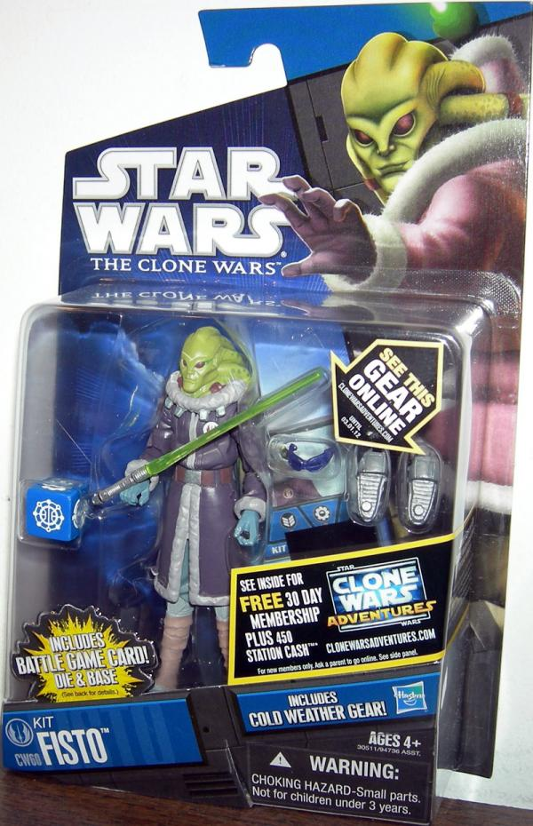 Kit Fisto Figure CW60 Star Wars Clone Wars