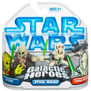 Kit Fisto General Grievous Galactic Heroes