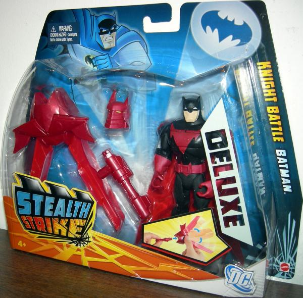 Knight Battle Batman Stealth Strike