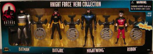 Knight Force Hero Collection 4-Pack