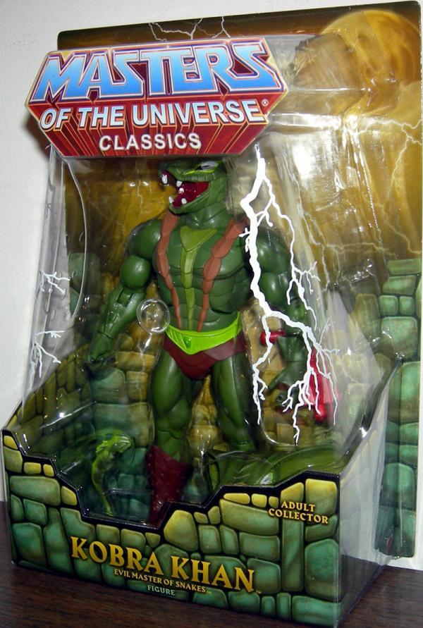 Kobra Khan Figure Masters Universe Classics Mattel