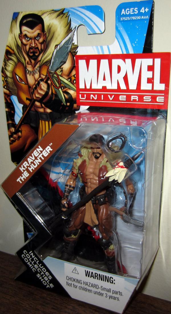 Kraven Hunter Marvel Universe, series 4, 008