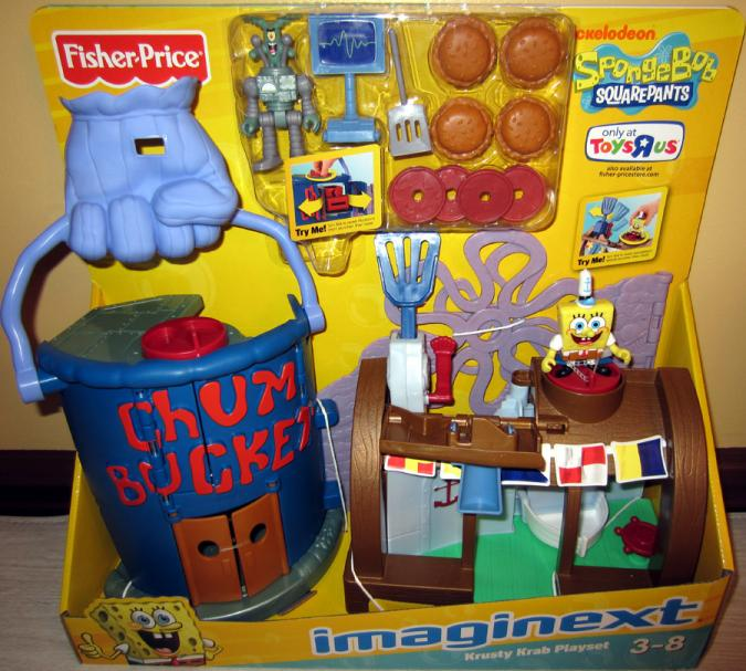 Krusty Krab Playset Imaginext, Toys R Us Exclusive