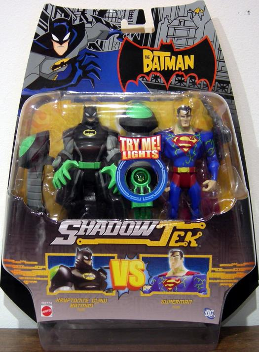 Kryptonite Claw Batman vs Superman ShadowTek action figures