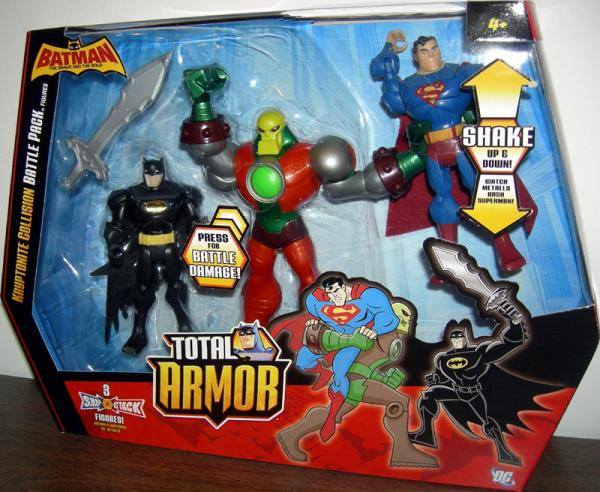 Kryptonite Collision Battle Pack Total Armor
