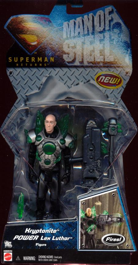 Kryptonite Power Lex Luthor