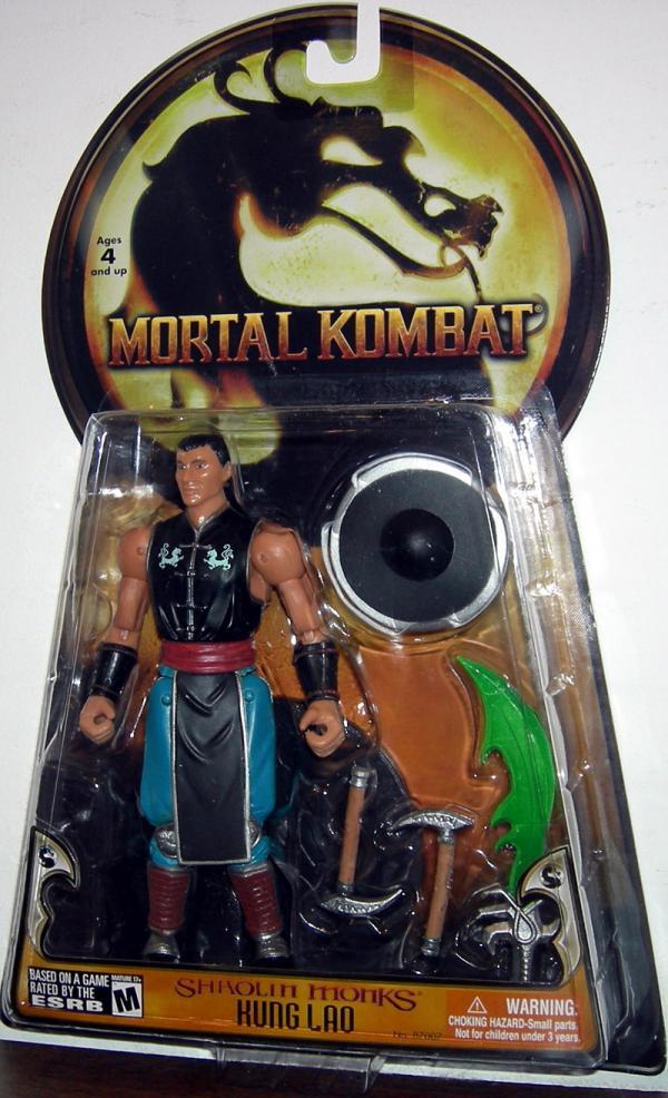 Kung Lao Action Figure Shaolin Monks Mortal Kombat Jazwares