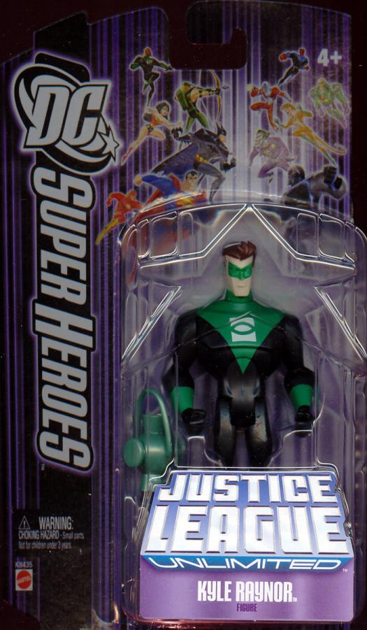 Kyle Raynor DC SuperHeroes Justice League Unlimited