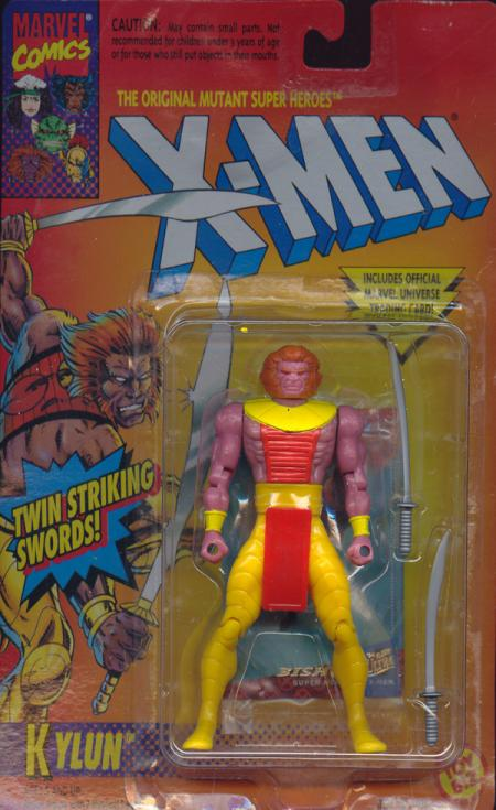 Kylun Figure X-Men Toy Biz
