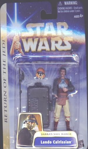 Lando Calrissian Figure Jabbas Sail Barge Star Wars