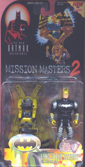 Land Strike Batman Mission Masters 2 action figure