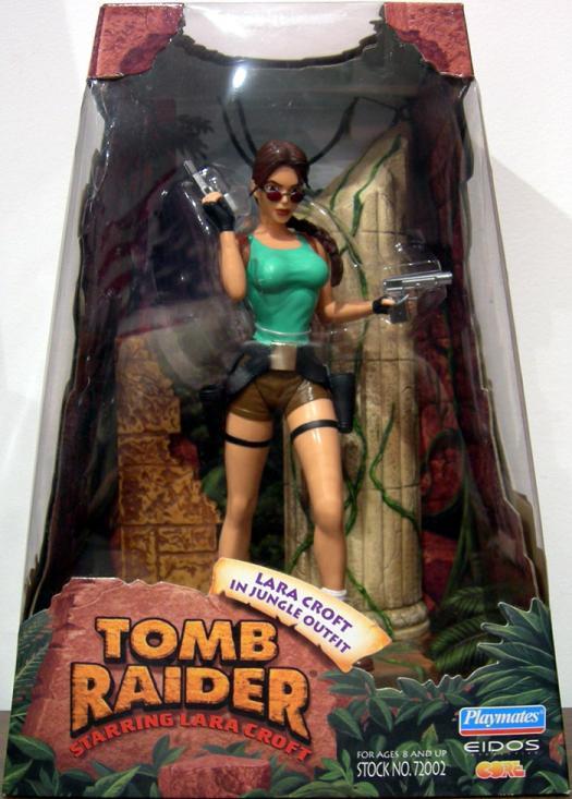 Lara Croft Jungle Outfit boxed