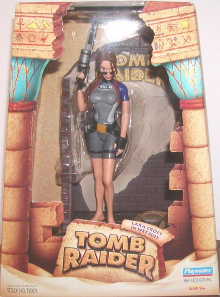 Lara Croft Wetsuit boxed