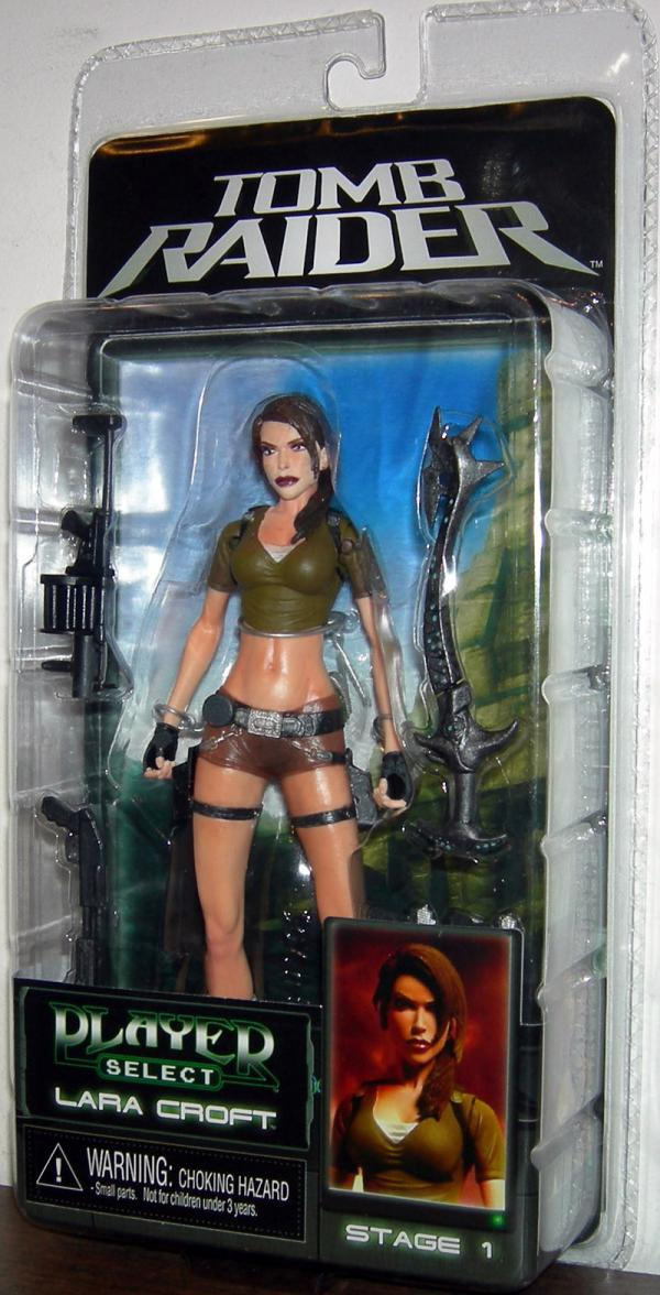 Lara Croft Figure Neca Player Select Tomb Raider