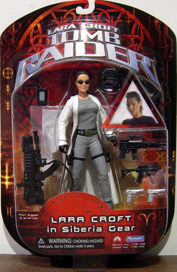 Lara Croft Siberia Gear Tomb Raider Movie action figure