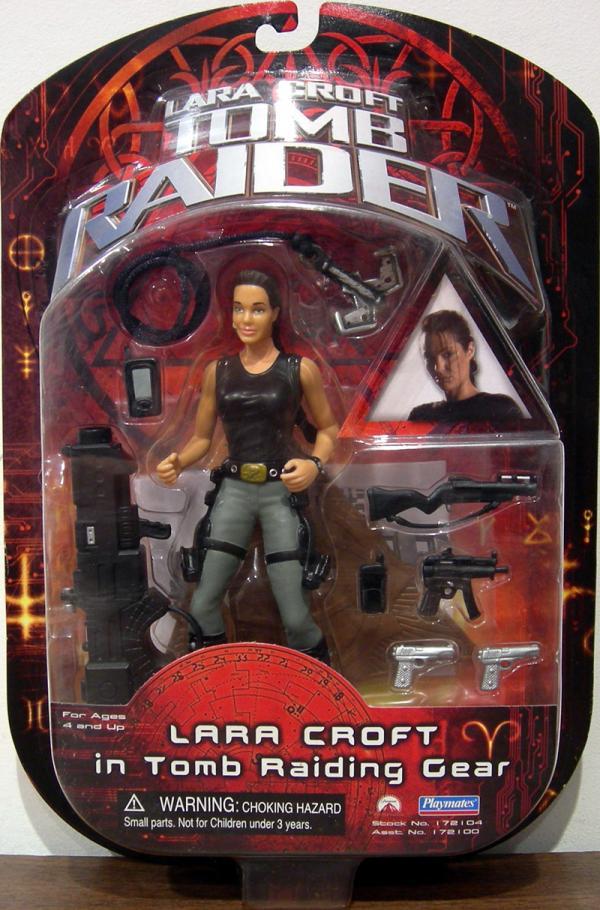 Lara Croft Tomb Raiding Gear movie