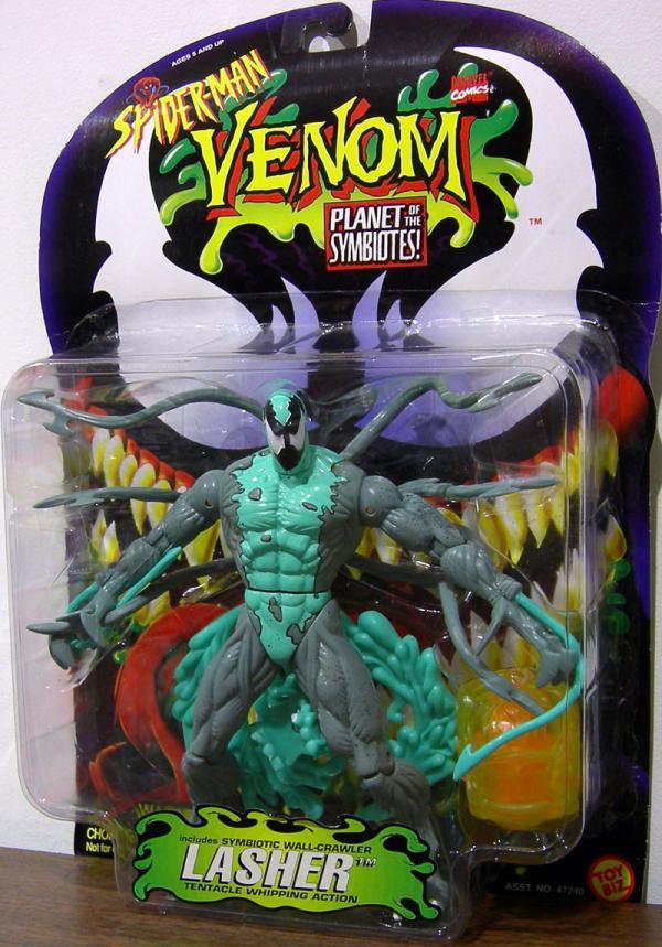 Lasher Spider-Man Venom Planet Symbiotes action figure