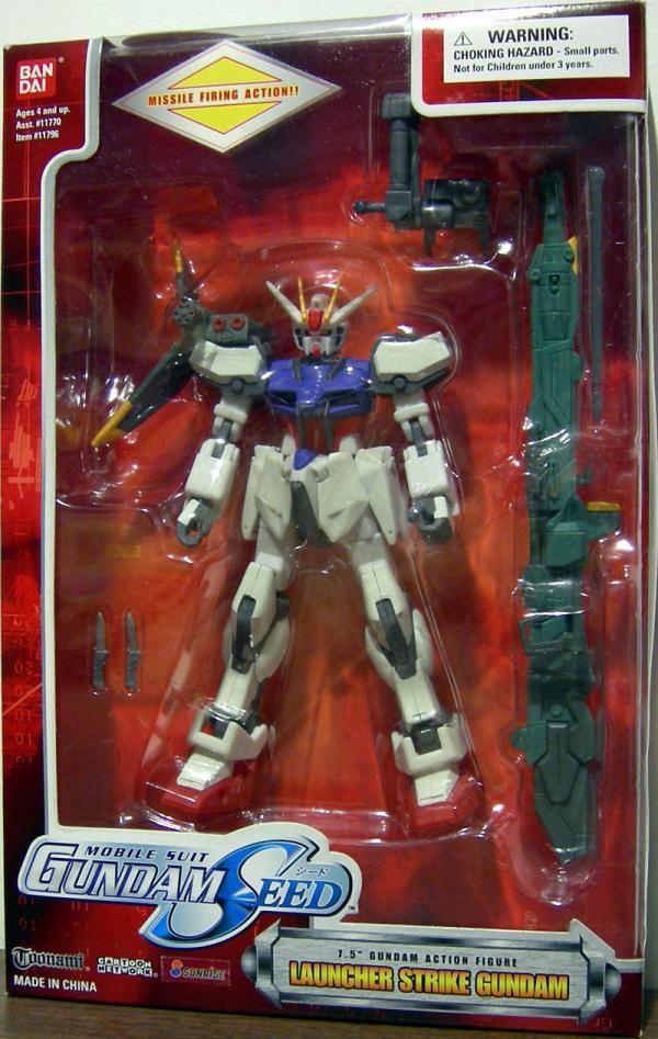 Launcher Strike Gundam 7 1-2 inch
