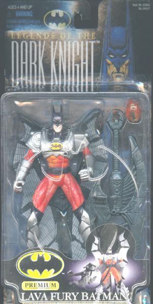 Lava Fury Batman