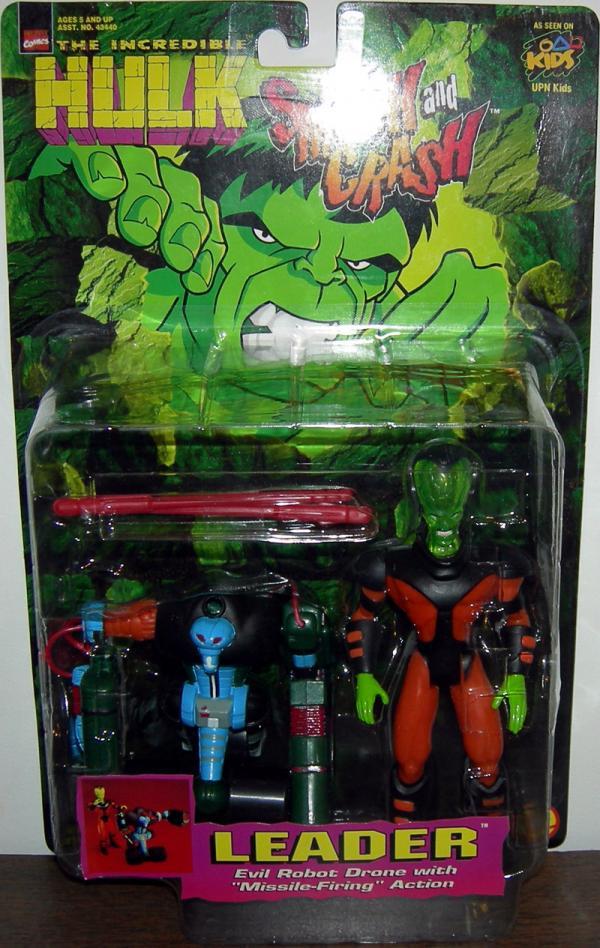 Leader Action Figure Hulk Smash and Crash Toy Biz