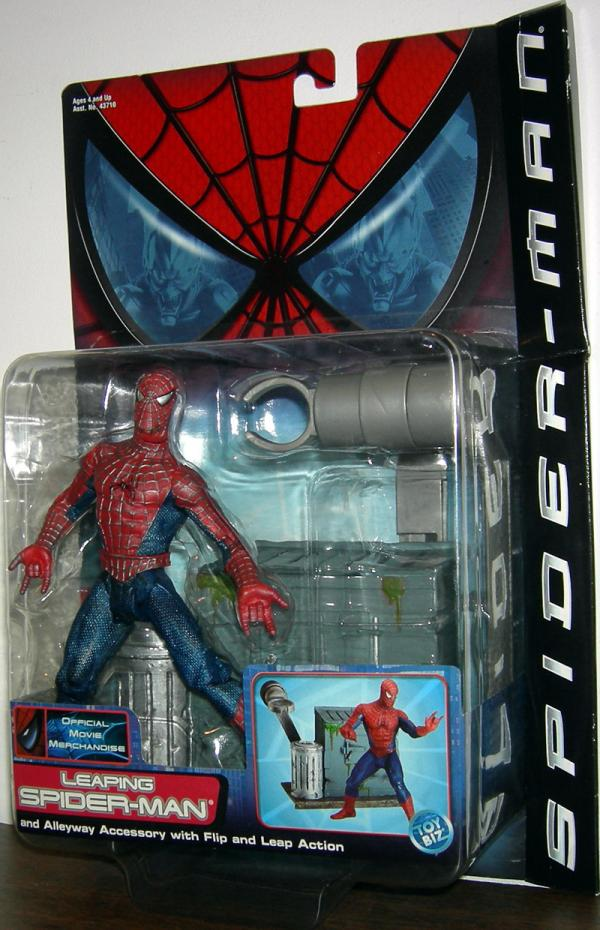 Leaping Spider-Man Movie Action Figure Toy Biz