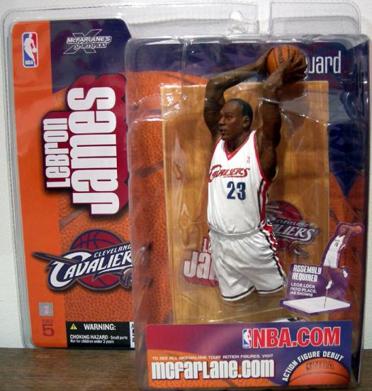 LeBron James Action Figure McFarlane SportsPicks