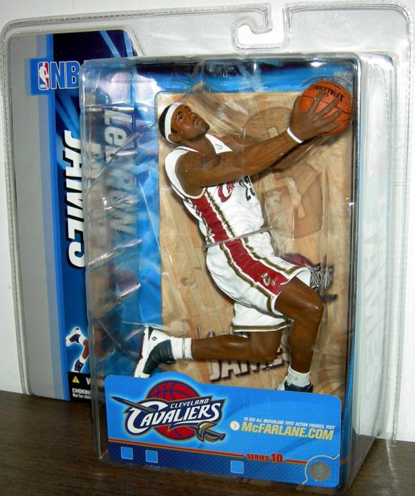 LeBron James 3 white uniform