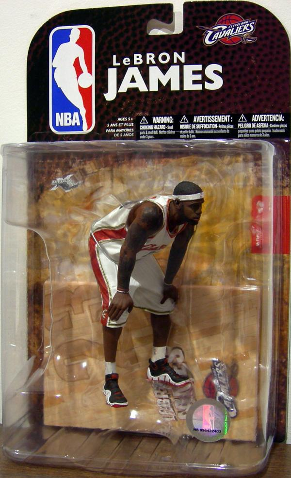 LeBron James 5 Series 16 Action Figure McFarlane Toys