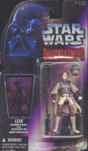 Leia Boushh Disguise Figure Shadows Empire Star Wars