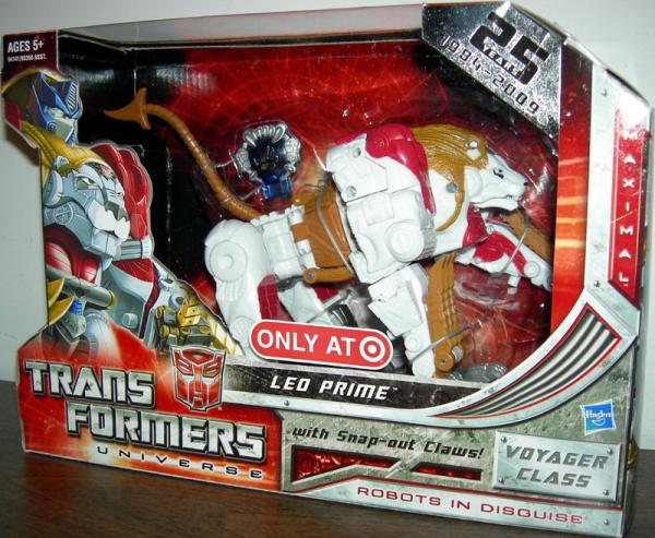Leo Prime Action Figure Voyager Class Target Exclusive