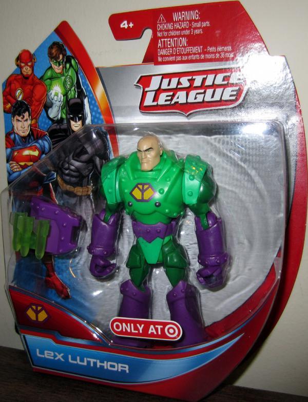 Lex Luthor Justice League Target Exclusive action figure