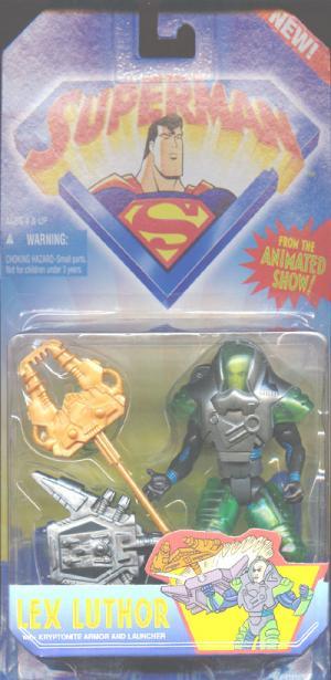 Lex Luthor Superman Animated Show Action Figure