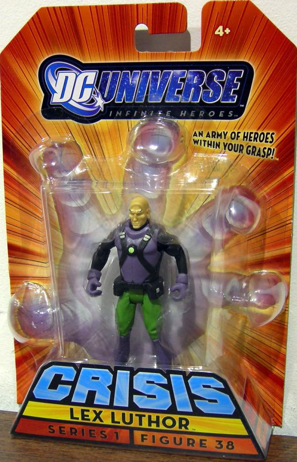 Lex Luthor Infinite Heroes Crisis Action Figure 38 Mattel