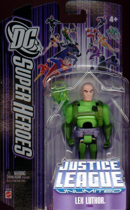 Lex Luthor DC SuperHeroes Justice League Unlimited